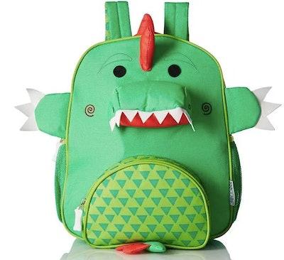 Green Dino Toddler Backpack
