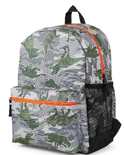 Camo Dino Backpack