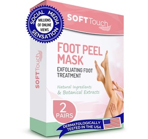 Soft Touch Natural Foot Peel Mask