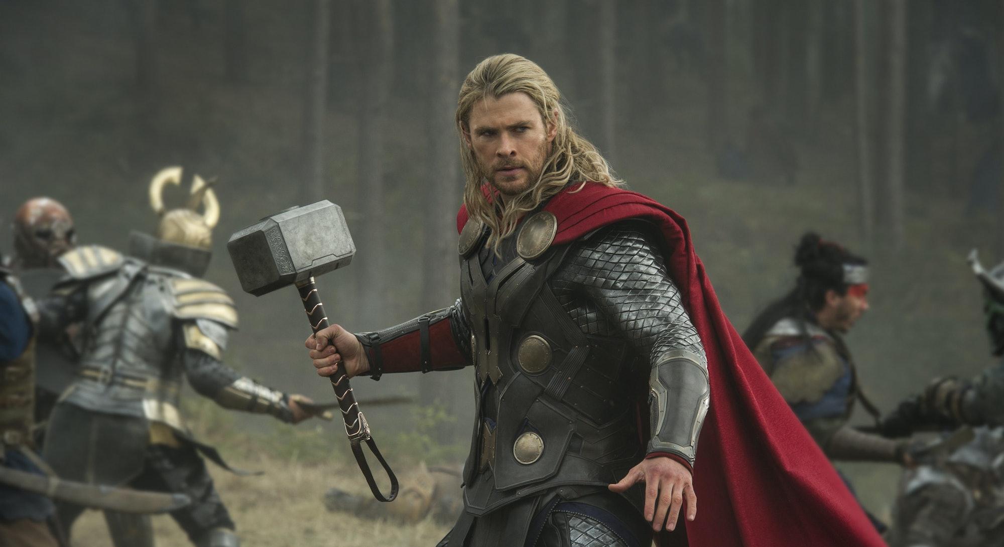 chris hemsworth as MCU's Thor