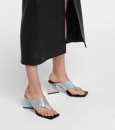 Devon Leather Thong Sandals