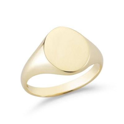 14kt Gold Signet Ring