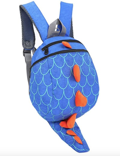 Blue Spiked Tail Backpack