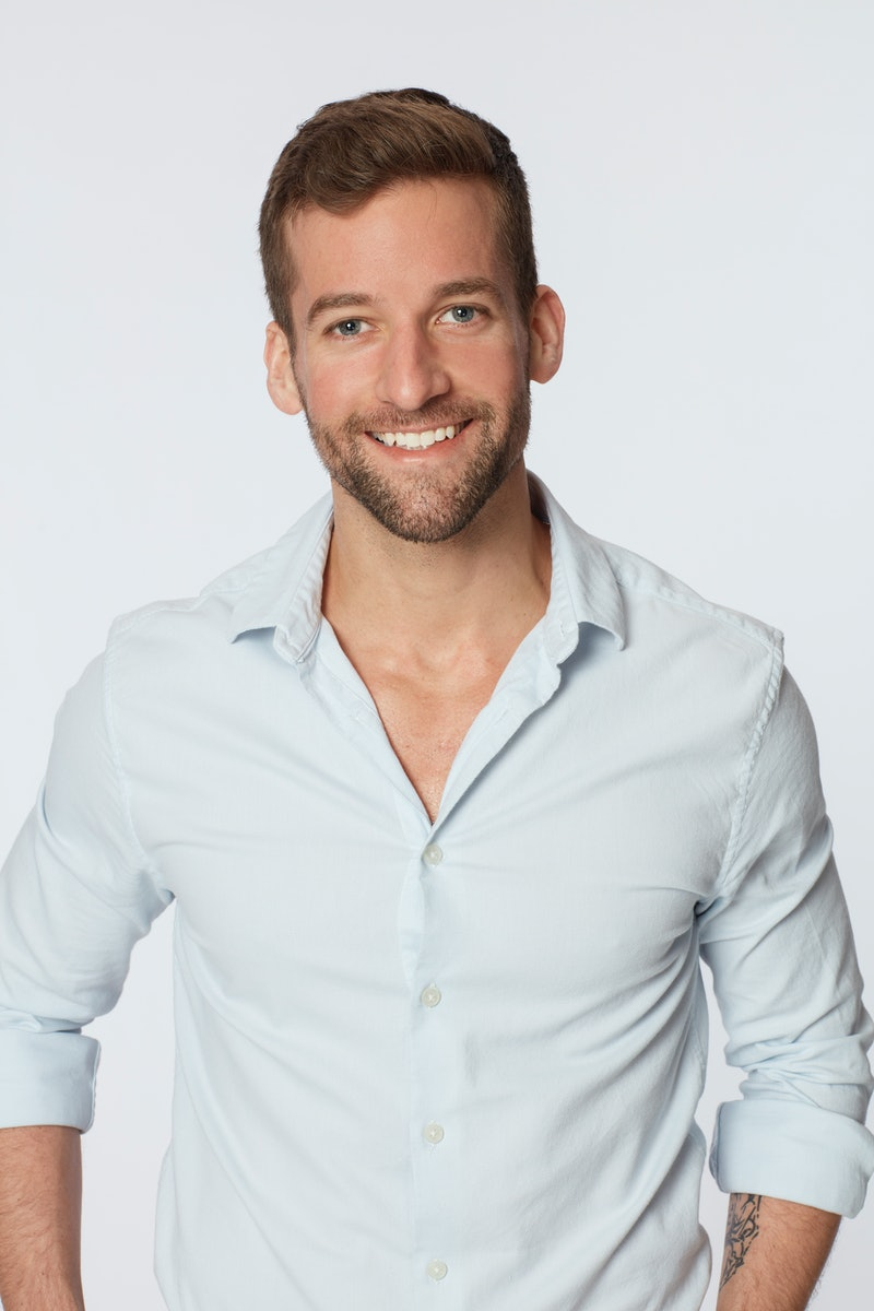 Headshot of Connor Brenna who was eliminated during episode six of The Bachelorette.
