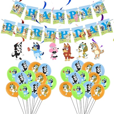 Bluey Party Supplies Pack