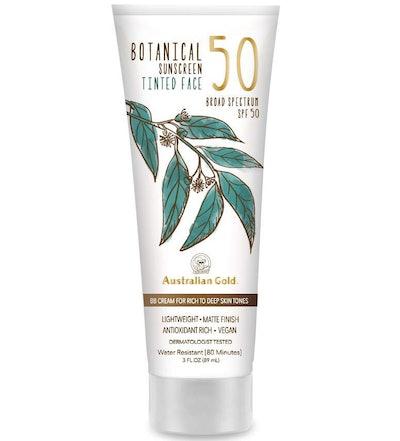 Australian Gold Botanical Tinted Face Sunscreen SPF 50