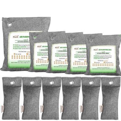 FLSEPAMB Bamboo Charcoal Air Purifying Bags (11-Pack)