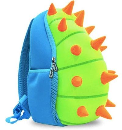 Orange Spiked Backpack