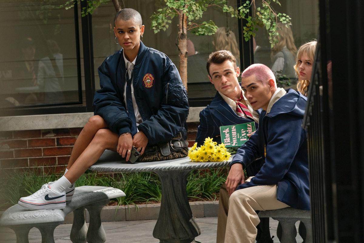 Jordan Alexander, Thomas Doherty, Evan Mock, Emily Alyn Lind are really hoping for Season 2 of 'Gossip Girl'