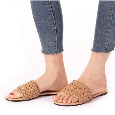 Mtzyoa Woven Flat Sandals