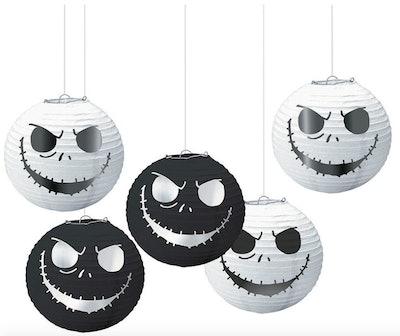 Nightmare Before Christmas paper lanterns.