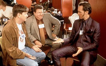 Mark McKinney & George Wendt in 'Spice World'