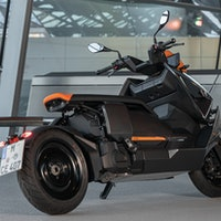 Behold! The BMW CE 04 is the coolest electric motorcycle ever