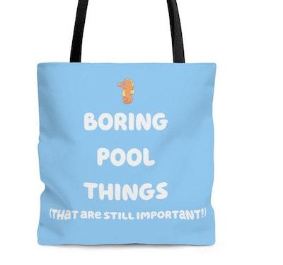 GeorgieandTed Boring Pool Things Tote