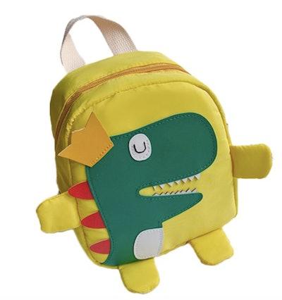 Yellow Dino Backpack