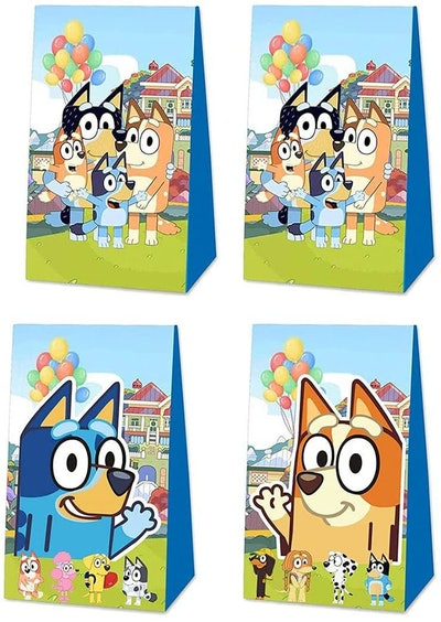 EasyWayUS Blue Dog Party Gift Bags