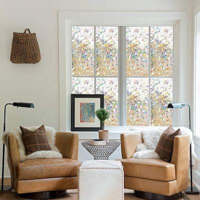 Rabbitgoo Decorative SunCatcher Window Film