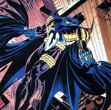 Jean-Paul Valley as Batman, by Norm Breyfogle.