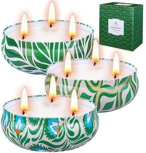 SUPERSUN Citronella Candles (Set of 3)