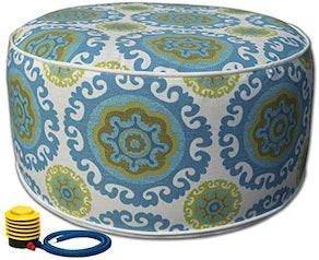 Kozyard Inflatable Stool Ottoman