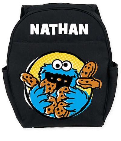 Cookie Monster Backpack in Black