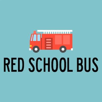 red school bus logo
