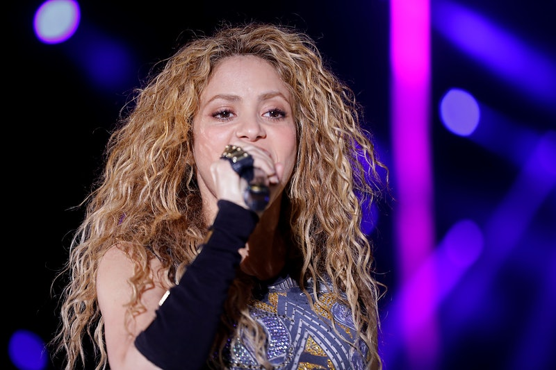 Shakira performs at the grand opening of the Cedars International Festival