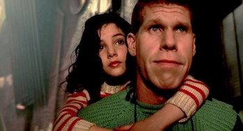Ron Perlman and Judith Vittet in The City of Lost Children