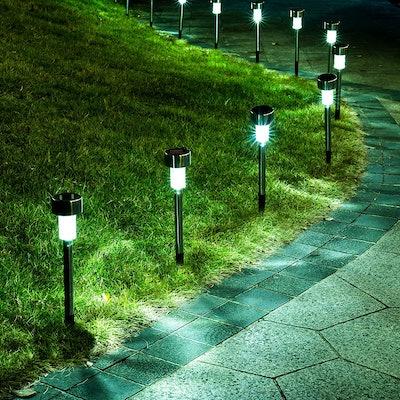 GIGALUMI Solar Path Lights (12-Pack)