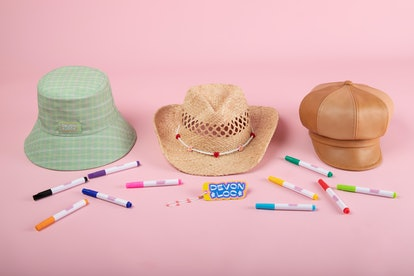 Devon Carlson x Lack of Color hat collaboration.