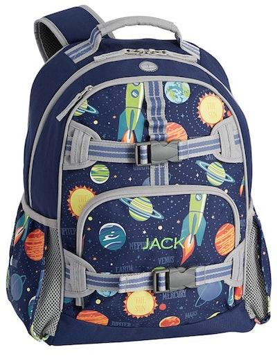 Navy Solar System Glow-in-the-Dark Mackenzie Backpack - Small