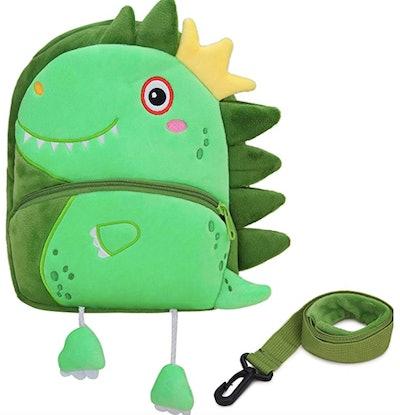 Side Spike Dino Backpack