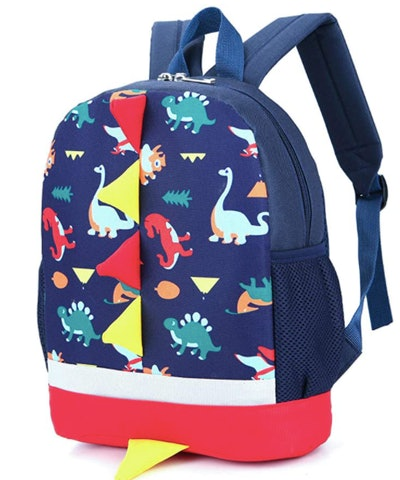 Multicolor Spike Backpack