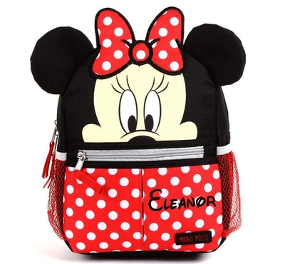 Personalized Minnie Mouse 10-inch Mini Backpack With Harness