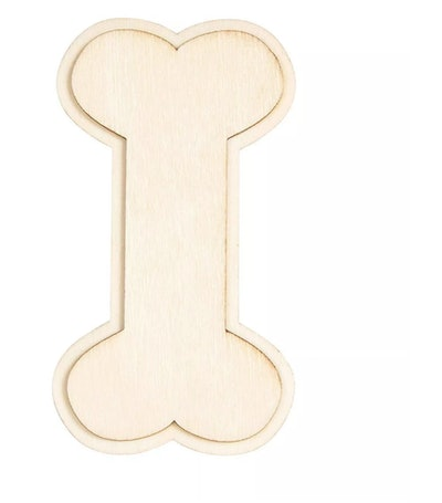 Genie Crafts 24-Pack Wood Cutouts