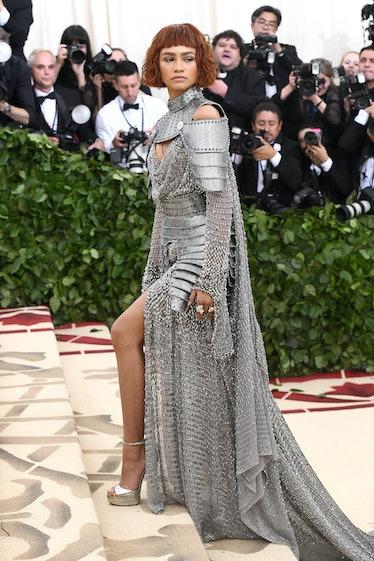 Zendaya in armor.