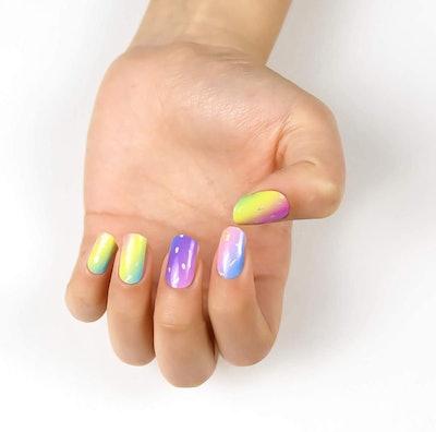 Bellaxixi Semi Cured Gel Nail Strips (20 Stickers)