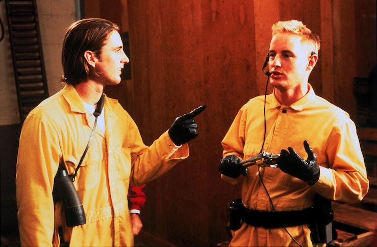 Luke and Owen Wilson in Bottlerocket.