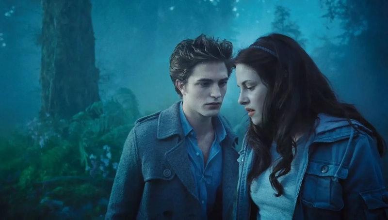 Kristen Stewart and Robert Pattinson star in 'Twilight.'