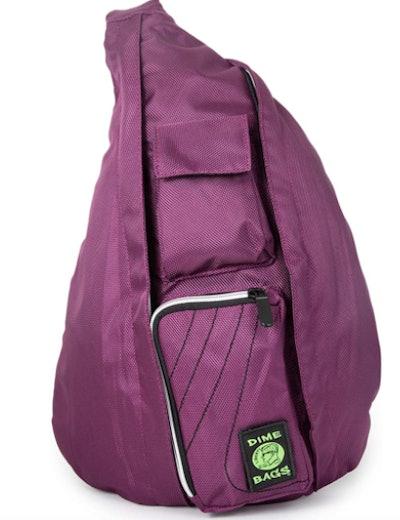 Purple Sling Backpack
