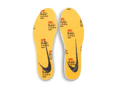 Off-White x Nike Air Zoom Tempo NEXT% insoles