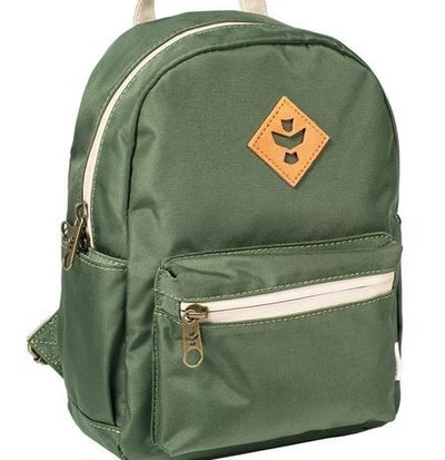 Green Smell Proof Backpack