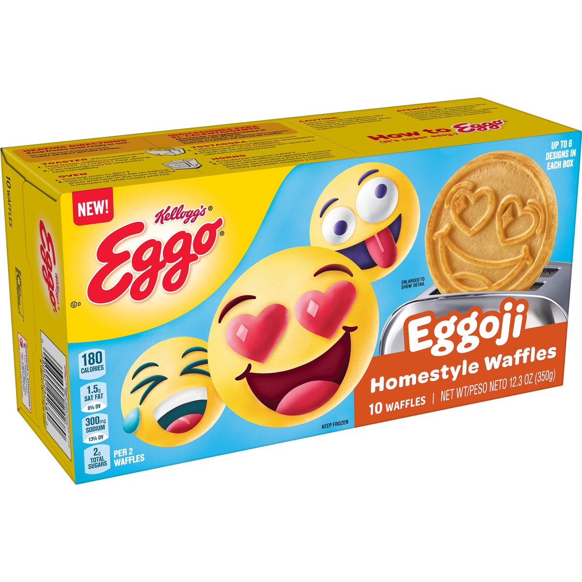 Here's where to buy Eggo's new Eggoji Waffles to give your breakfast a real mood.