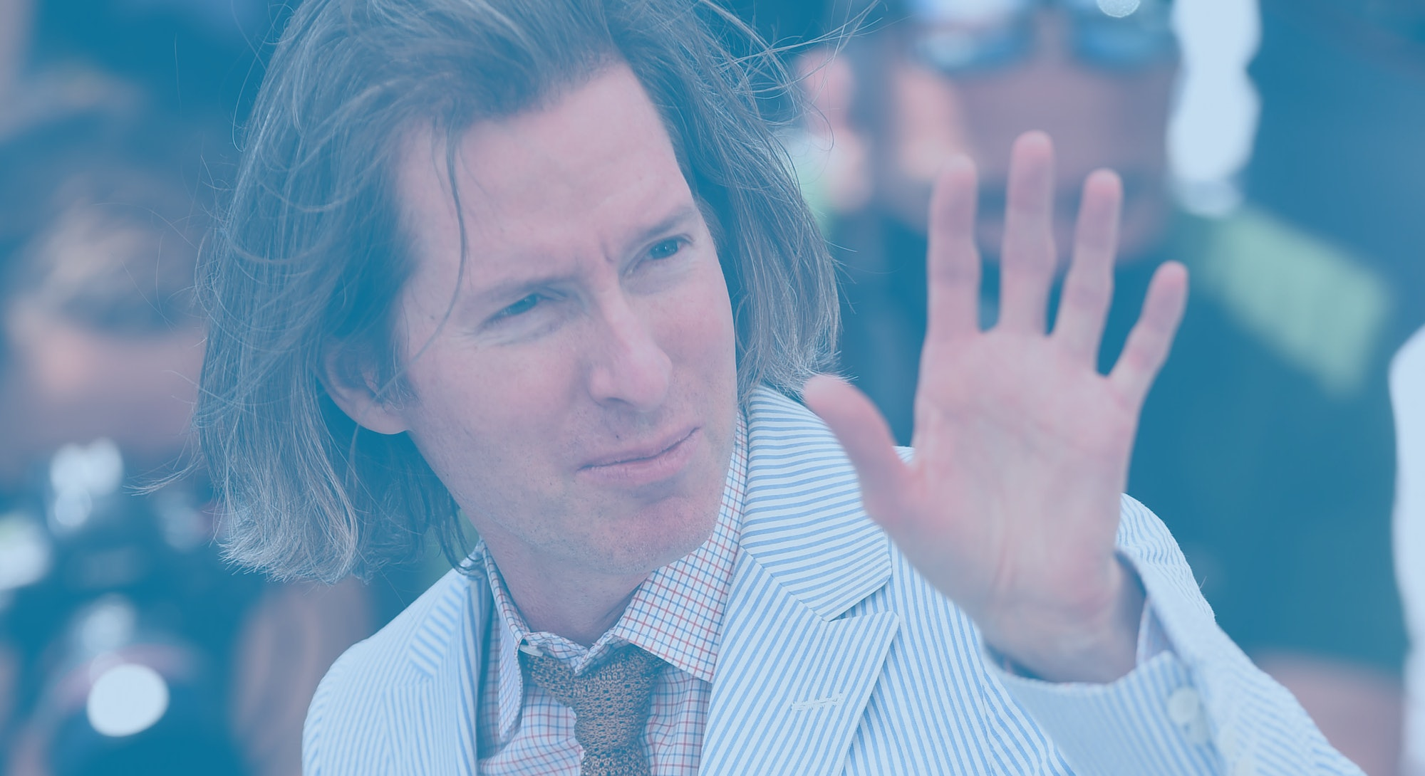 Wes Anderson at Cannes 2021.