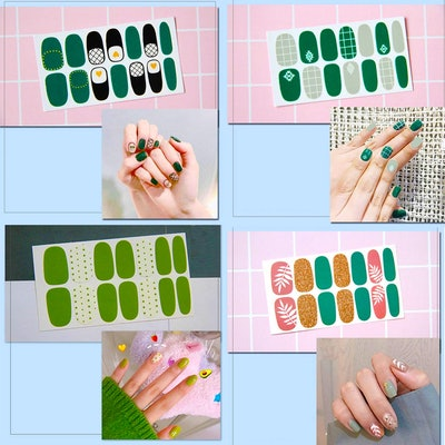 TailaiMei Nail Stickers (16 Sheets)