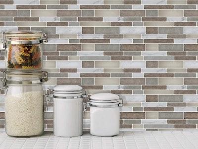 Art3d Self-Adhesive Backsplash Tiles
