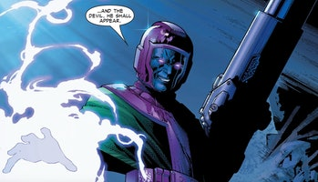 Kang making quite an entrance in Young Avengers #3
