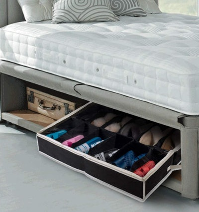 Woffit Under-Bed Shoe Organizers (2-Pack)