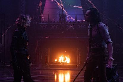Loki and Sylvie could team up for more mischief in 'Loki' Season 2. Photo via Marvel Studios