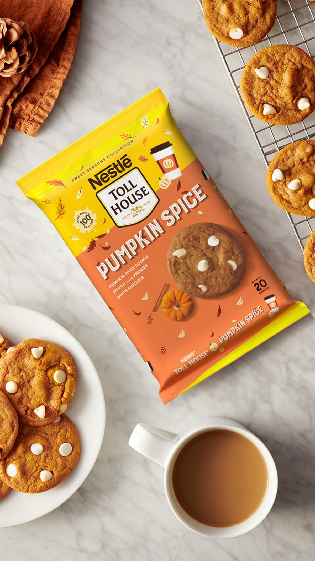 Nestlé Toll House's fall 2021 lineup of cookie dough flavors all sound so tasty.